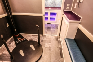 custom fitness trailer interior 021