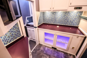 custom fitness trailer interior 024