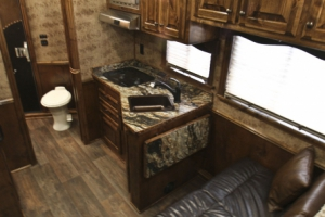saddle suede trailer living quarters 001