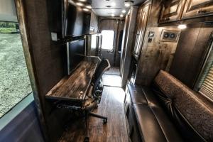 van conversion trailer living quarters 002