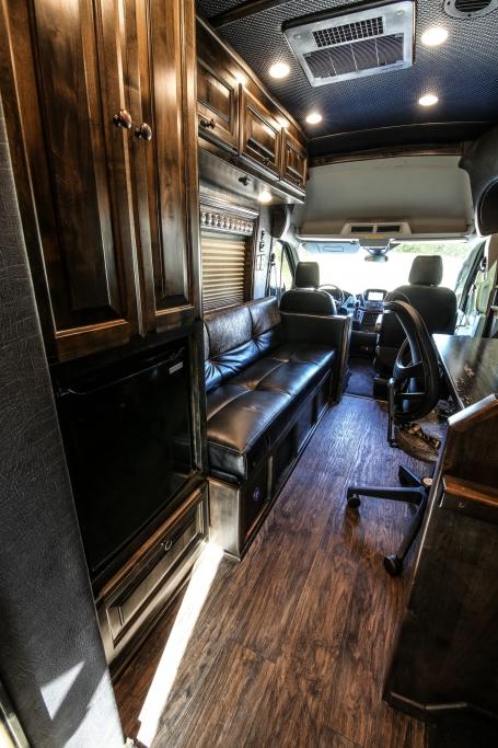 van conversion trailer living quarters 005