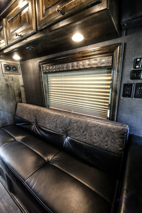 van conversion trailer living quarters 007