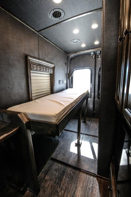 van conversion trailer living quarters 009