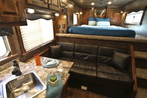 walnut alder nu croc dark chocolate seating trailer living quarters 014