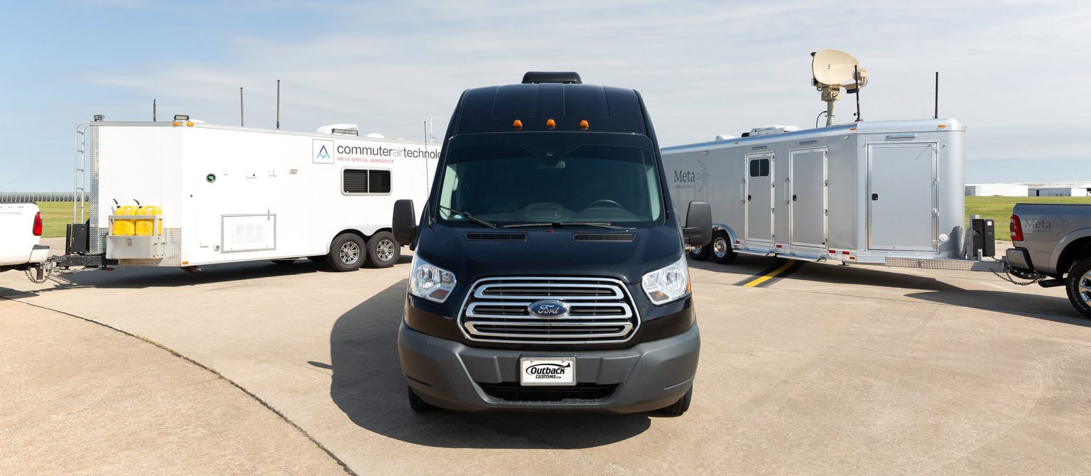 Meta Special Aerospace Mobile Command Centers and Ford Transit Mobile Command Van